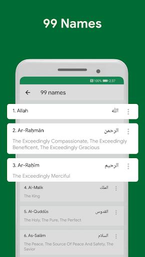 Muslim Assistant - Prayer Times, Azan, Qibla 4.2.06 Screenshots 6