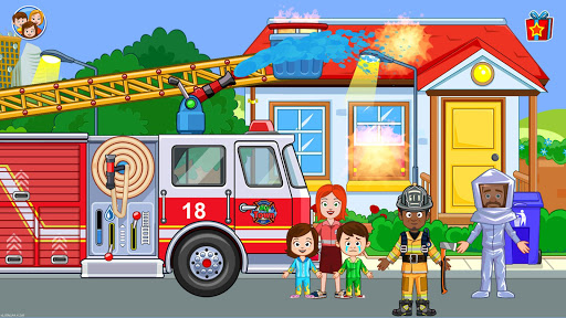 Fireman, Fire Station & Fire Truck Game for KIDS android2mod screenshots 12