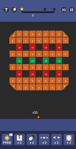 Bricks and Balls - Bricks Breaker Crusher android2mod screenshots 2