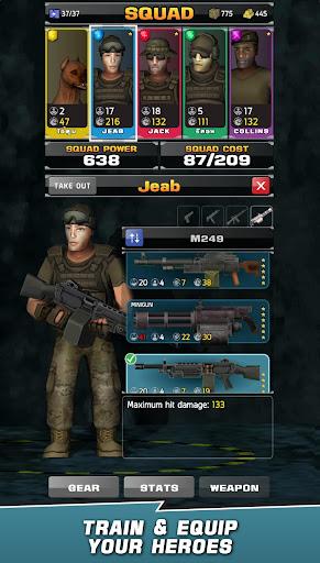 VDV MATCH 3 RPG: ZOMBIES! 1.7.008 screenshots 3