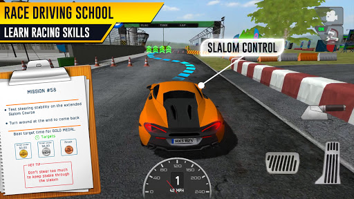 Race Driving License Test 2.1.2 screenshots 1