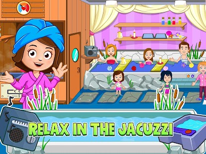 My Town : Beauty Spa Saloon Screenshot