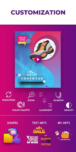 Video Flyers - Flyer Maker, Make Poster, Video Ads 21.0 Screenshots 4