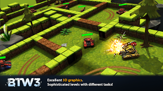 Block Tank Wars 3 v1.19 MOD APK 1