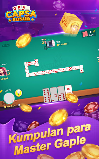 Capsa Susun Online:Domino Gaple Poker Free  screenshots 2