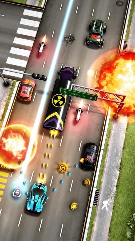 Chaos Road: Combat Racing poster 0
