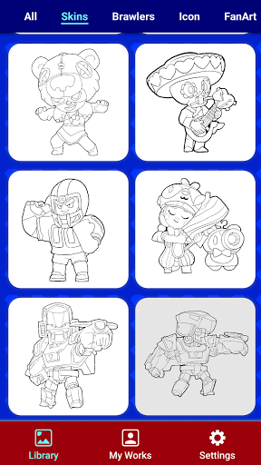 Coloring for Brawl Stars 0.27 screenshots 5