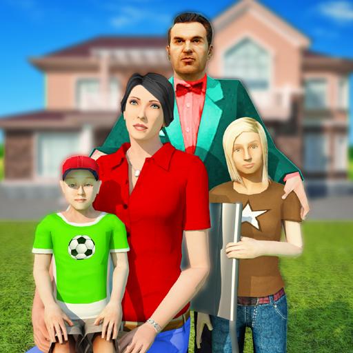 Baixar Virtual Family simulator – Real life games para Android