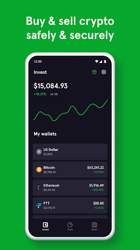Blockfolio - Bitcoin and Cryptocurrency Tracker  screenshots 1