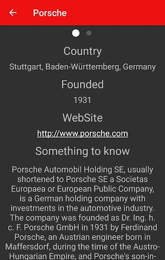 Car Brands Screenshot 2
