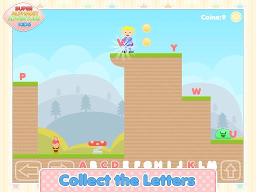 super alphabet adventure kids screenshot 1