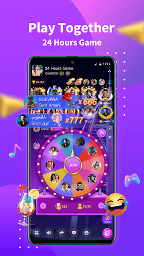 StarChat-Group Voice Chat Room  screenshots 4