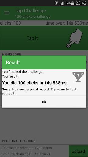 tap challenge screenshot 2