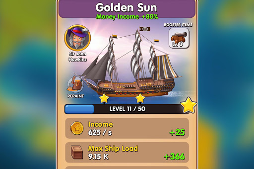 Pocket Ships Tap Tycoon: Idle Seaport Clicker modavailable screenshots 8