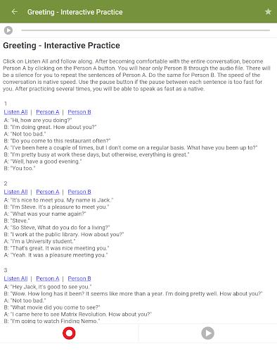 Learn to Speak English 2.4.8 Screenshots 9