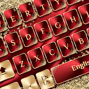 Red Gold Luxury Keyboard