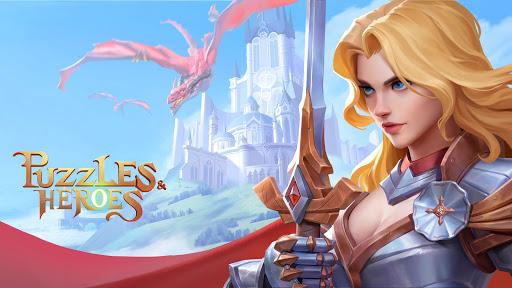 Puzzles & Heroes: RPG Match 3  screenshots 1