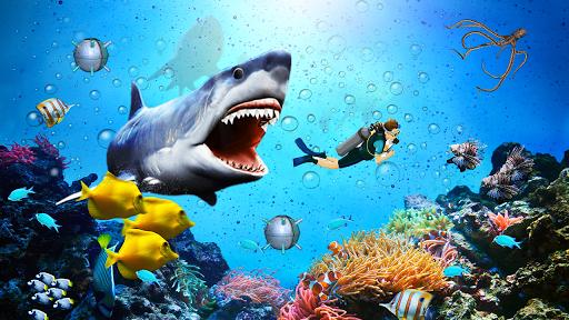 angry shark attack - wild shark game screenshot 2