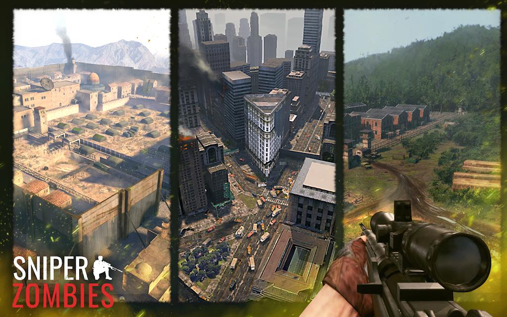 Sniper Zombies: Offline Games 3D  poster 11