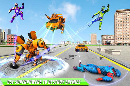 Deer Robot Car Game u2013 Robot Transforming Games 1.0.7 screenshots 3