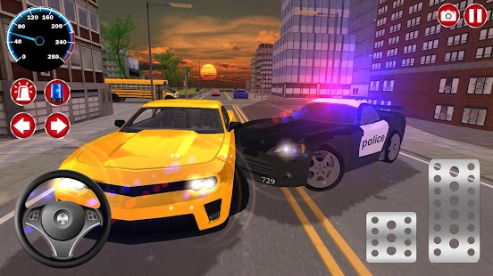 Real Police Car Driving Simulator: Car Games 2021 Screenshot