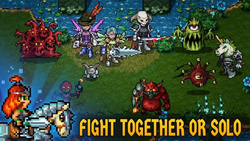 Dungeon Winners RPG u22c7 Retro Pixel Online Roguelike 1.10037 screenshots 1