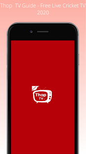 Thop TV Guide - Free Live Cricket TV 2020 Screenshot