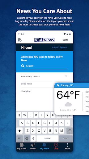 WRAL News App 6.0.23.1716 screenshots 1