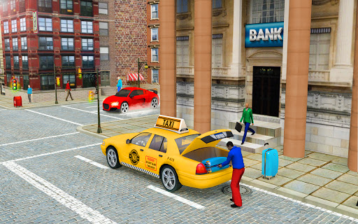 New Taxi Driving Games 2020 – Real Taxi Driver 3d  screenshots 1