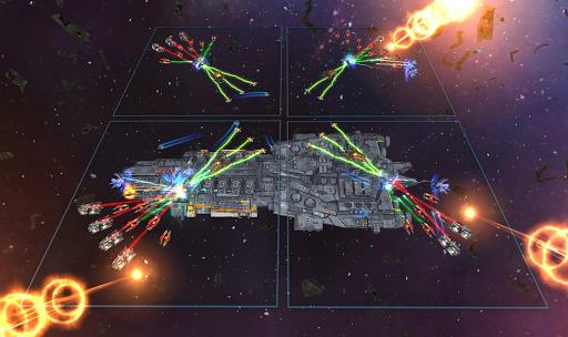 Space Ships WAR: Unique TD Battles apkpoly screenshots 5