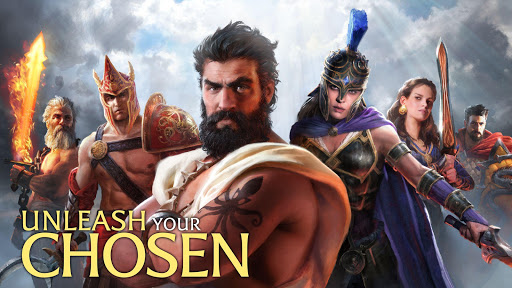 Olympus Rising: Tower Defense and Greek Gods modiapk screenshots 1