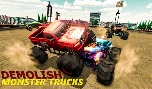 Demolition Derby 2021 - Monster Truck Destroyer modavailable screenshots 15