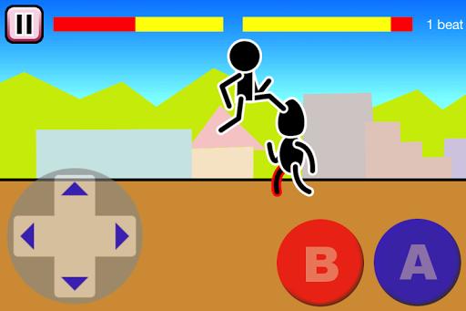 Fighting games Mokken: stick man battle modavailable screenshots 13