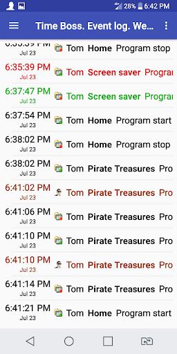 Time Boss Parental Control 2.22 Screenshots 5
