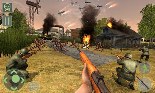 Frontline World War 2 Survival Mod Apk (God Mode) 1