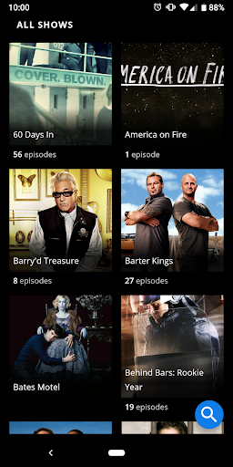 Foto do A&E - Watch Full Episodes of TV Shows