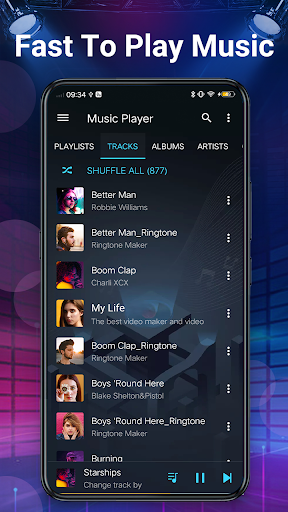 Music Player - Bass Booster & Free Music android2mod screenshots 8