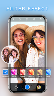 HD Camera - Best Filters Cam with Editor & Collage Screenshot