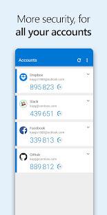 Microsoft Authenticator screenshots 4