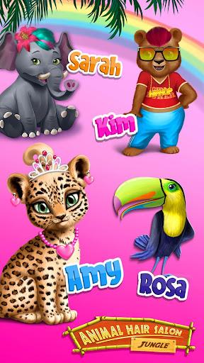 Jungle Animal Hair Salon - Styling Game for Kids 4.0.10018 screenshots 5