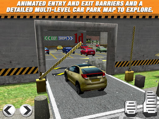 Multi Level Car Parking Game 2 android2mod screenshots 14