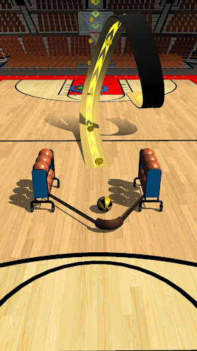 Slingshot Basketball! 1.1.1 screenshots 1