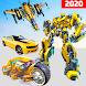 Flying Jet Robot Car Transform Games