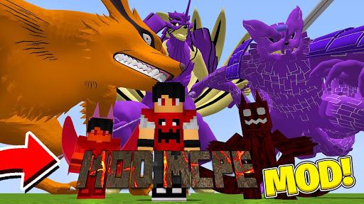 Mod Anime Heroes u2013 Mod Naruto for Minecraft PE 1.0.0 Screenshots 2