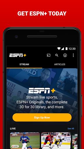ESPN android2mod screenshots 4