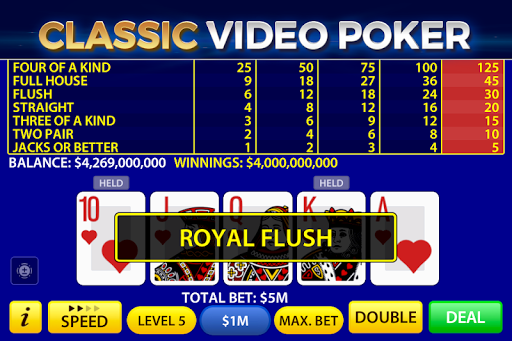 Video Poker by Pokerist 39.5.1 screenshots 3