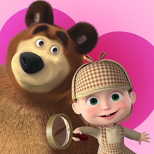 Mascha und der Bär - Finde die Unterschiede