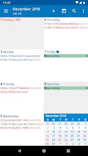 aCalendar Apk- a calendar app for Android (Final/Paid) 4