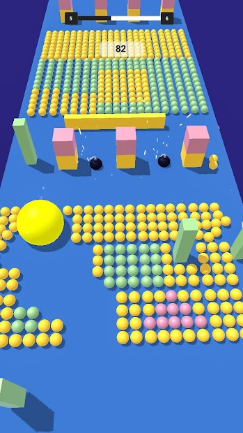 Screenshot 3 de Grande Bola Bache 3D para android