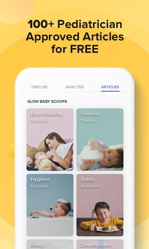 GLOW. Baby Tracker & Feeding, Diaper, Sleep Log 3.10.2 Screenshots 6